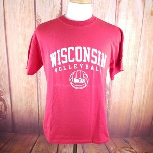 Champion Wisconsin Badgers Volleyball Shirt